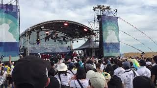ナオト・インティライミSummerSonic2018.08.19ビーチステージ