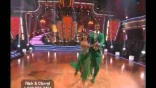 Rick and Cheryl dance Quickstep - DWTS Season 11 Week 7