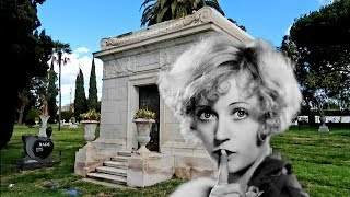 #885 MARION DAVIES Grave Tomb at Hollywood Forever - Jordan The Lion Daily Travel Vlog (1/8/19)