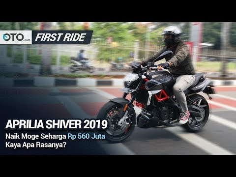 Aprilia Shiver 2019 | First Ride | Naked Big Bike Buas | OTO com