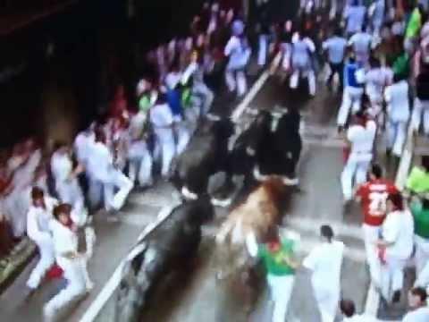 Bull Run 14.07.2013 { Pamplona } 8 End