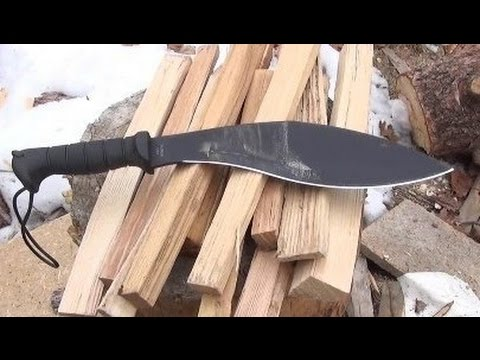 KA-BAR Kukri Machete Review (Tough Workhorse, Great Price)