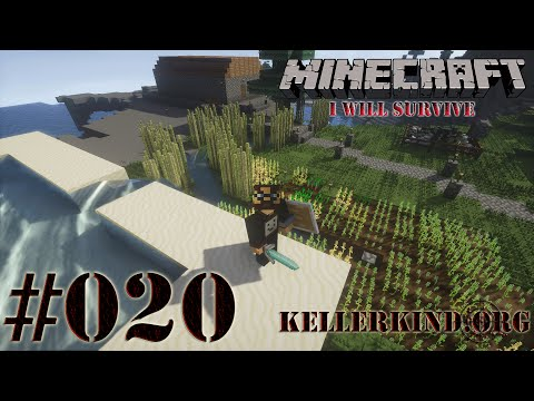 Minecraft: I will survive #020 - Monsterregen ★ Let's Play Minecraft [HD|60FPS]