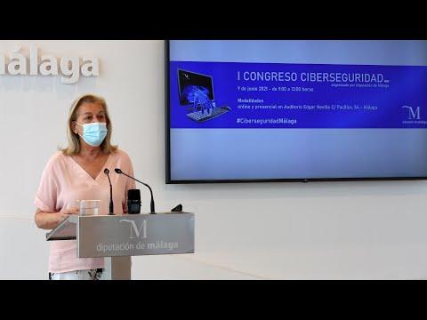 Presentación del I Congreso de Ciberseguridad organizado por la Diputación de Málaga