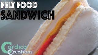 DIY Felt Food: Sandwich