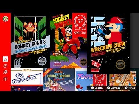 Donkey Kong 3, Wrecking Crew & Mighty Bomb Jack SP   Nintendo Switch Online - v.3.0.0 - Gameplay ITA