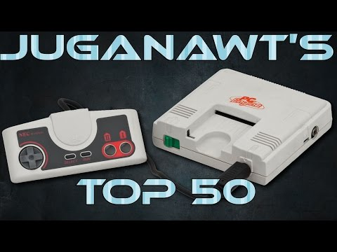 Top 50 TurboGrafx-16 / PC-Engine games of all time in 1080p / 60FPS!