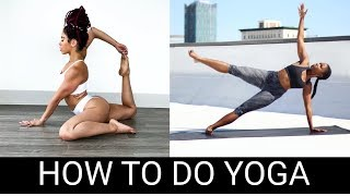 How to do Yoga for beginners  | #BlackGirlMagic Edition