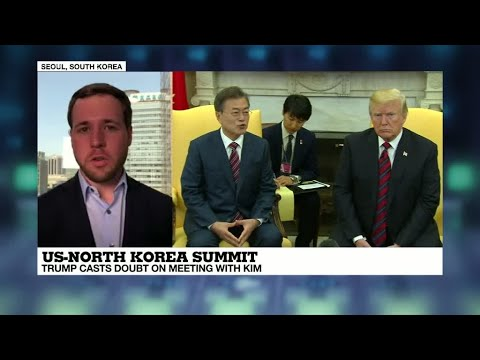 Trump casts doubt on historic North Korea summit as Moon visits White House