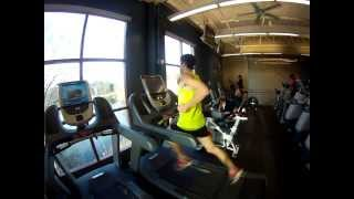 Sub Four Minute Mile on a Treadmill