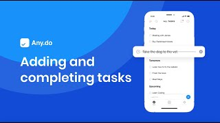 Watch: Adding and Completing Tasks