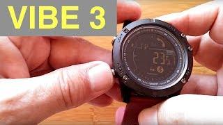 ZEBLAZE VIBE 3 DIGITAL IP67 Waterproof Smartwatch: Unboxing And 1st Look