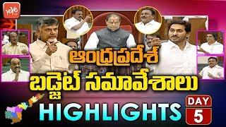 gratis download video - AP Assembly Budget Session 2019 Day 5 Highlights LIVE | AP CM YS Jagan VS Chandrababu | YOYO TV