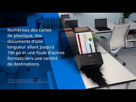 Brother ADS-2400N Scanner de bureau haute vitesse