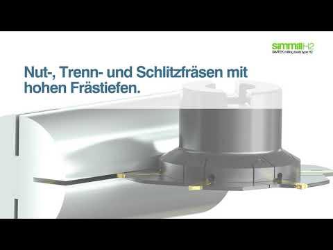 simmill H2 - Nut-, Trenn- und Schlitzfräsen