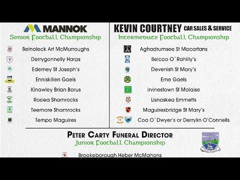 2021 Fermanagh Club Championships Draw
