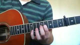 How to play place to be by Nick Drake