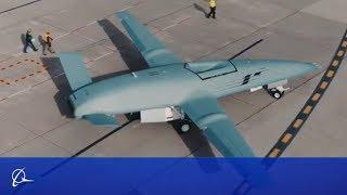 Промо-видео беспилотника Boeing MQ-25