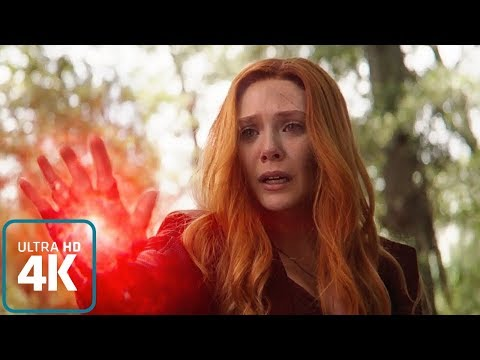 Scarlet Witch vs Black Order: All Powers from the Film