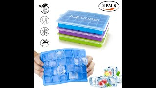 Morfone Silicone Ice Tray with Removable Lid
