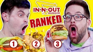 Every In-N-Out Secret Item RANKED