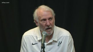 Mavs Vs. Spurs: Pop Speaks About Dirk