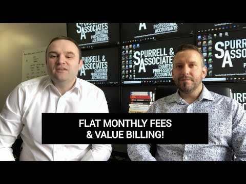 Flat Monthly Fees & Value Billing