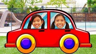Kids Go Shopping Song | Wendy & Emma Pretend Play Nursery Rhymes & Kids Songs