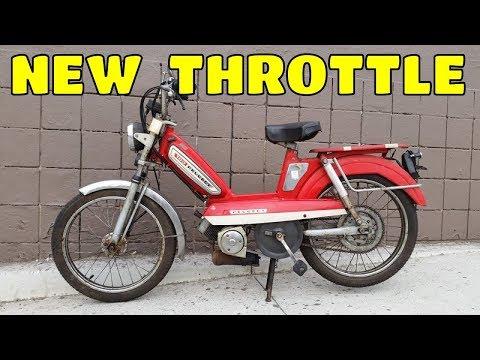 Daddy remplace the throttle sur la 103 ! - (TUTO)