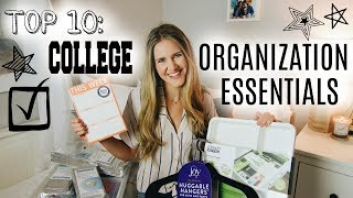 10 College Organization Things You NEED To Keep Your Life Together!