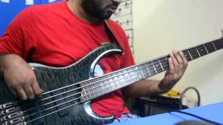 Chic - Strike up the band (bass cover)