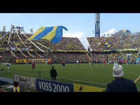 """""""Rosario Central vs N.O. Boys (Recibimiento)"""" Barra: Los Guerreros • Club: Rosario Central • País: Argentina"""