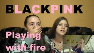 """BLACKPINK   """"Playing With Fire(불장난)"""" MV [FANGIRL REACTION]"""