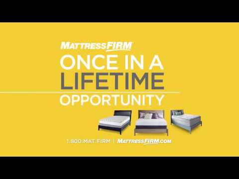 Mattress Firm Commercial (2017) (Television Commercial)