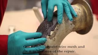 קיט ריתוך/תיקון קר  לאגזוזים חום גבוה   Wencon Exhaust Repair Kit 1300C