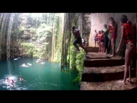 Cenote Ik-Kil, Yucatán México