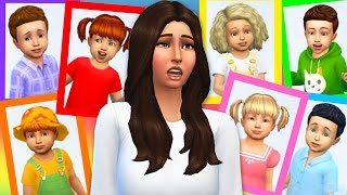The Sims 4 - SEVEN TODDLER CHALLENGE!! (Sims 4, Episode 2)