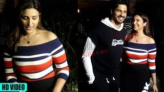 Siddharth Malhotra with Parineeti Chopra Spotted at Soho House