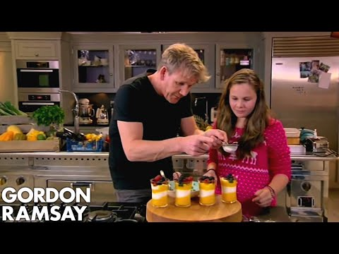 Mango Sundae From Gordon Ramsay