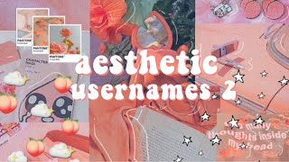 username ideas aesthetic - TH-Clip