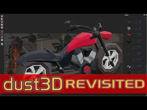 Dust3D Modeling Application
