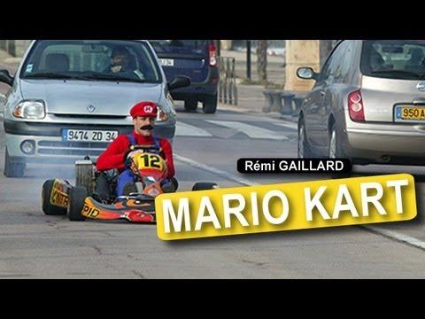 Image video Rémi Gaillard en Mario Kart