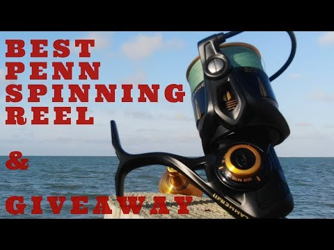 BEST PENN SPINNING REEL Review (Summer 2018) – Plus Conflict II Giveaway