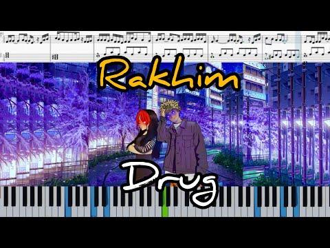 Рахим Абрамов - Друг (на пианино + ноты | слова | караоке и midi)
