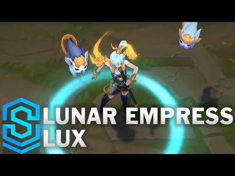 Lunar Empress Lux Skin Spotlight – Pre-Release – League of Legends