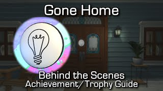 Gone Home - Behind the Scenes Achievement/Trophy Guide - All Commentary Nodes Locations