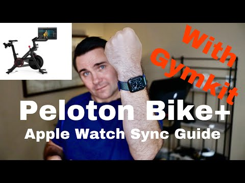 Peloton Bike+ Apple Watch Sync with Gymkit Guide