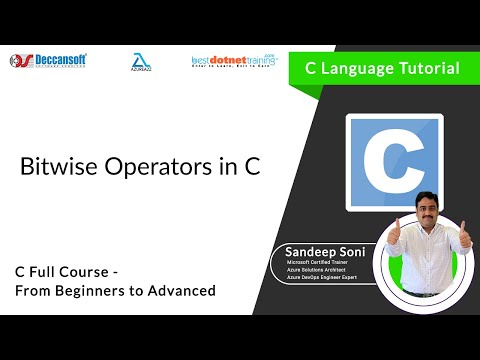 Bitwise Operators in C | Introduction to Bitwise Operators – C language Tutorial