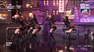 [HD中字]AOA Like a cat live M!countdown