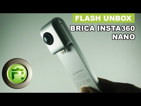 Solusi Kamera 360 Termurah! Brica Insta360 Nano - Unboxing Indonesia - Flash Gadget Store